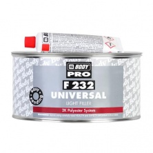 HB BODY PRO F232 Universal Polyester Filler Шпатлевка